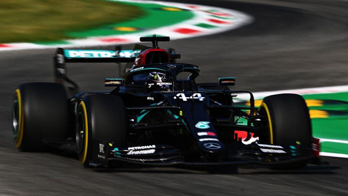 Lewis Hamilton (Mercedes) au Grand Prix d'Italie 2020