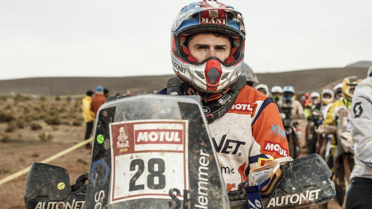 Emanuel Gyenes, la Dakar
