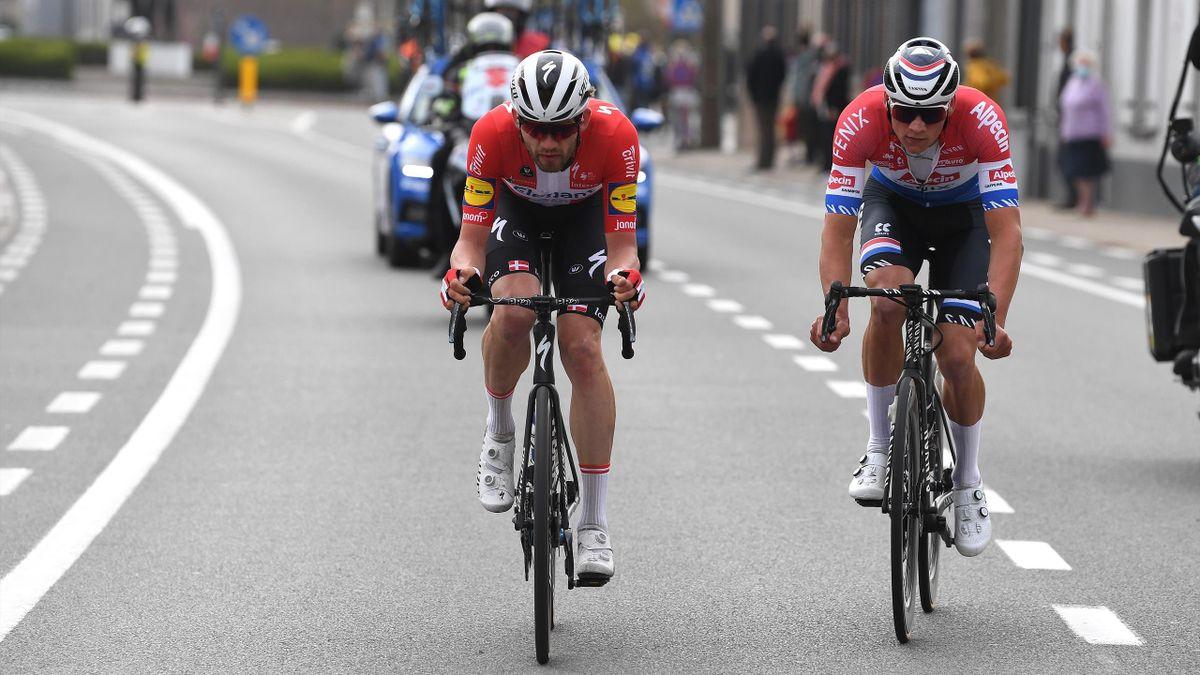 Ronde van Vlaanderen| Samenvatting Ronde van Vlaanderne met winst Asgreen