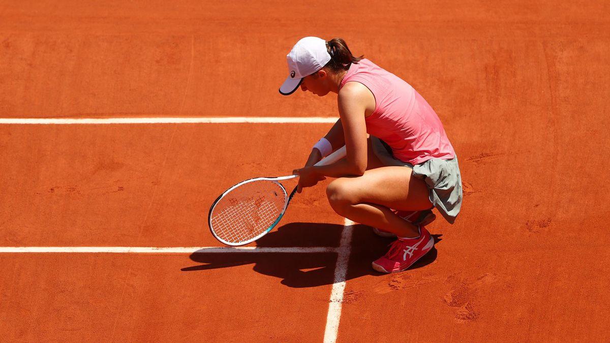 Iga Swiatek bei den French Open in Paris