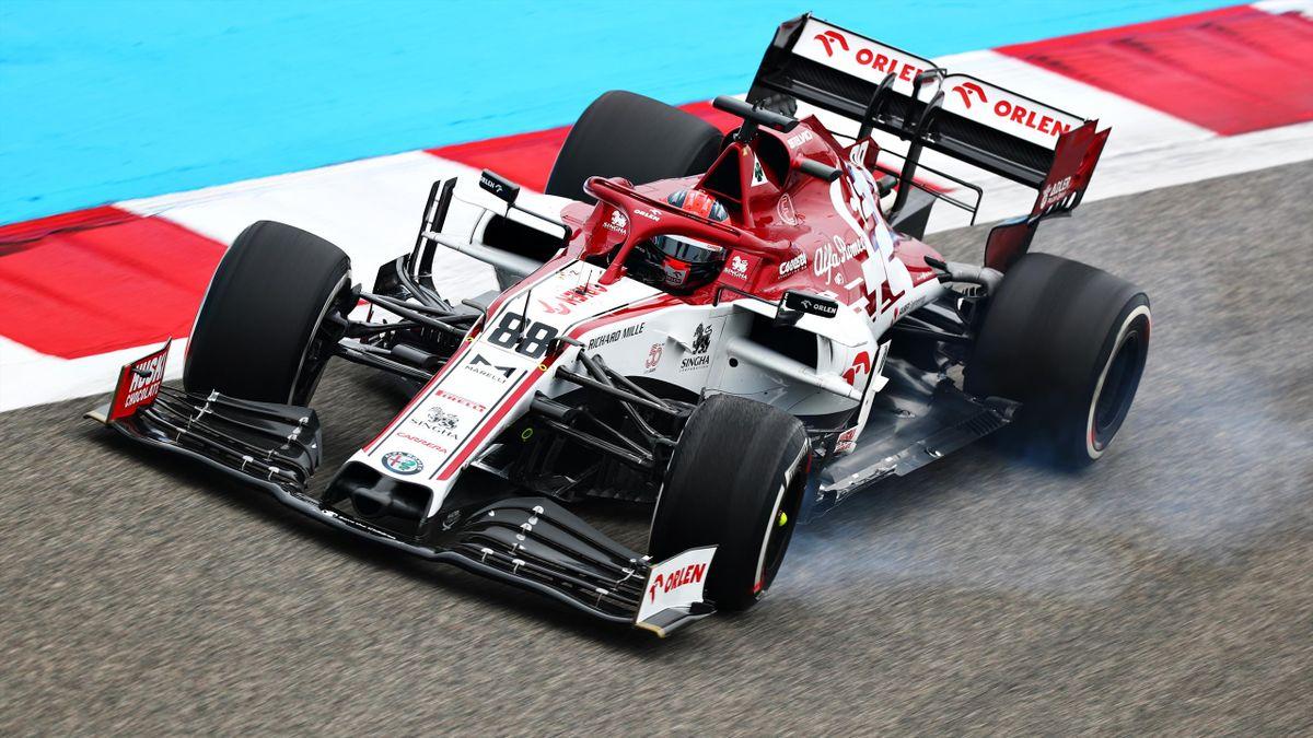 Robert Kubica, Alfa Rome, Bahrain