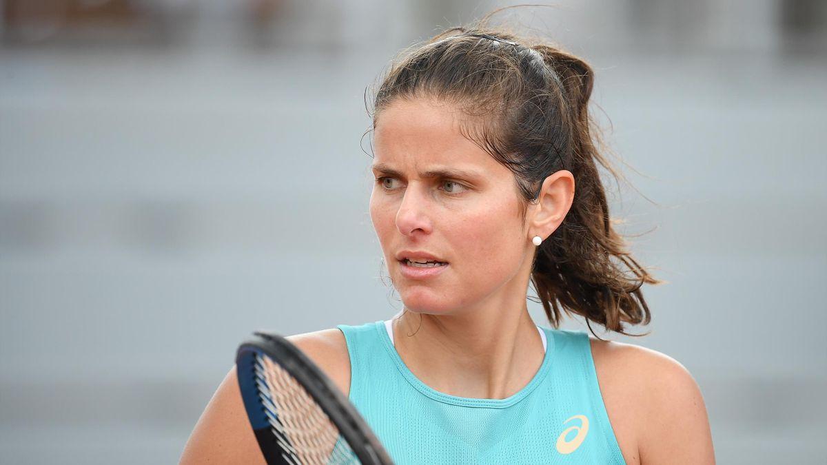 Julia Goerges à Roland-Garros en 2020