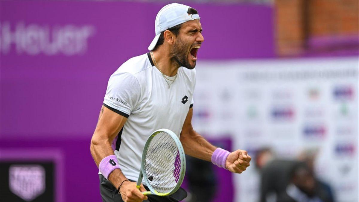 Matteo Berrettini - ATP 500 Queen's 2021