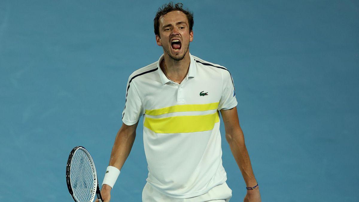 Daniil Medvedev im Halbfinale der Australian Open 2021