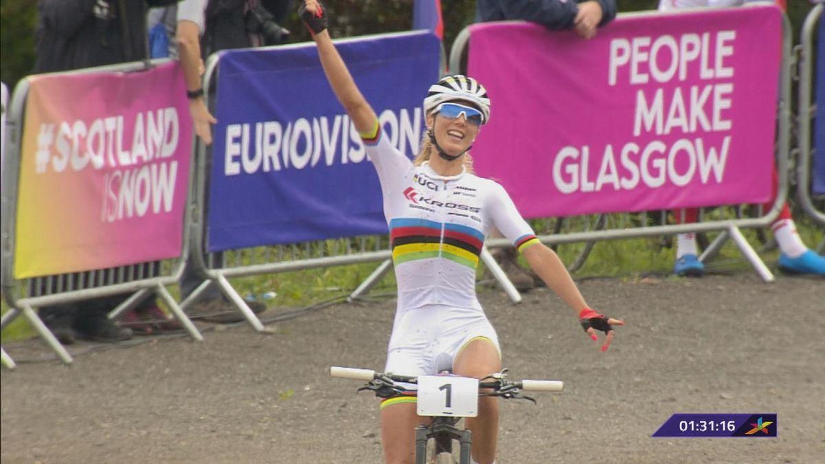 European Championship : Neff wins the cross-country women