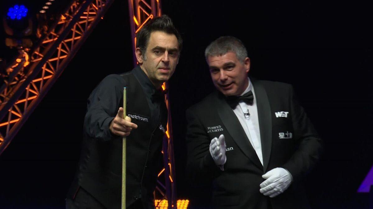 World Grand Prix : The referee has to explain Ronnie O'Sullivan the rule