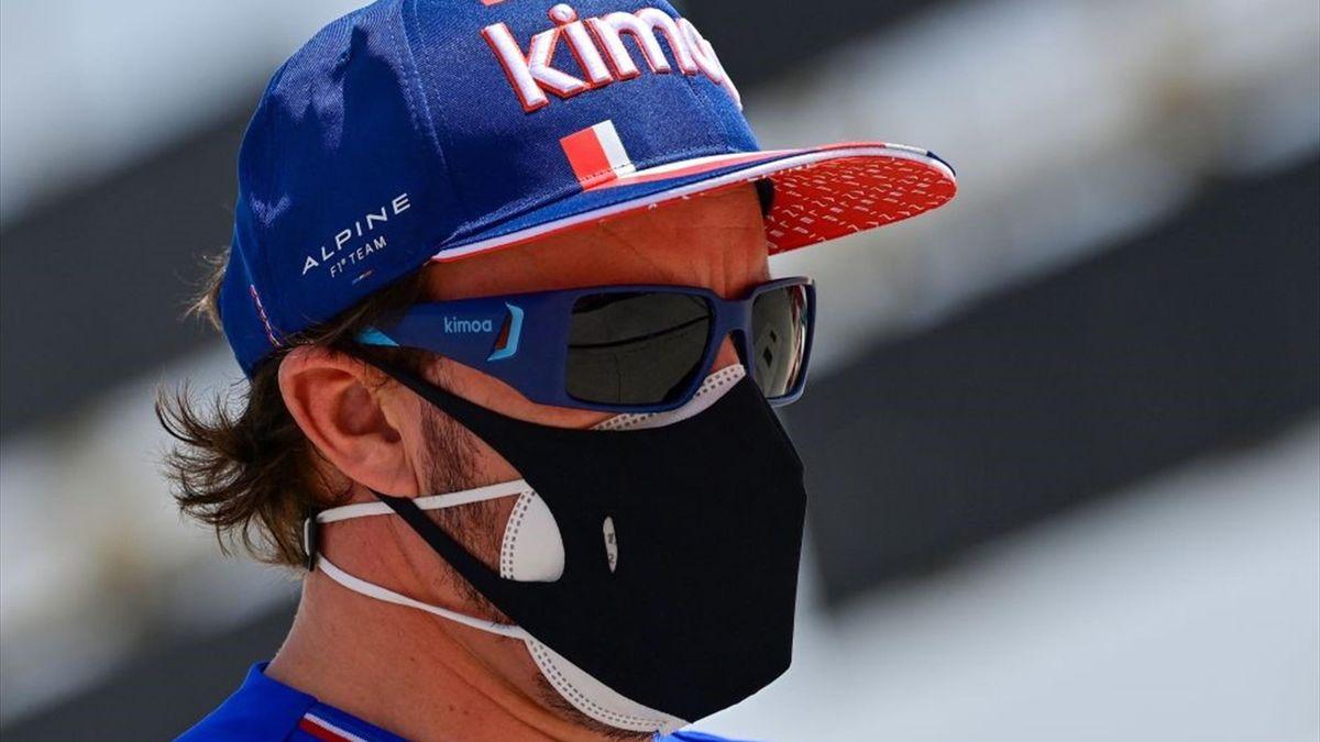 Fernando Alonso, Alpine, Fórmula 1