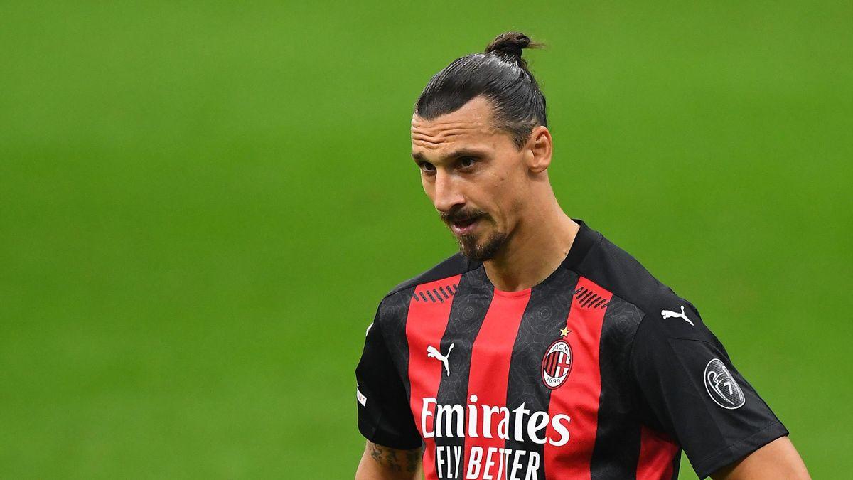 Zlatan Ibrahimovic, atacantul lui AC Milan