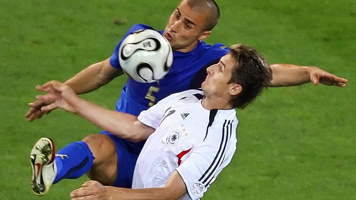 Cannavaro vs Klose