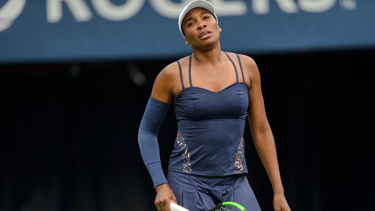 Venus Williams à Toronto en 2019