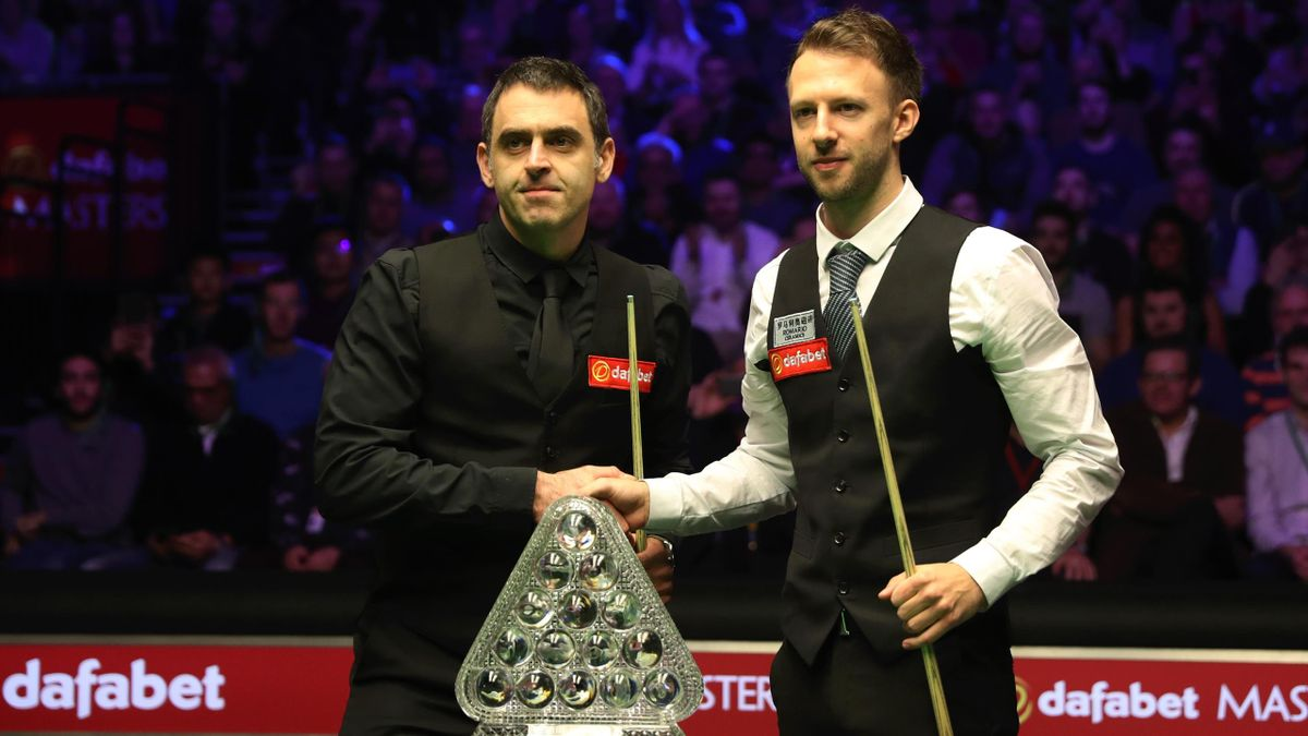 Ronnie O'Sullivan and Judd Trump