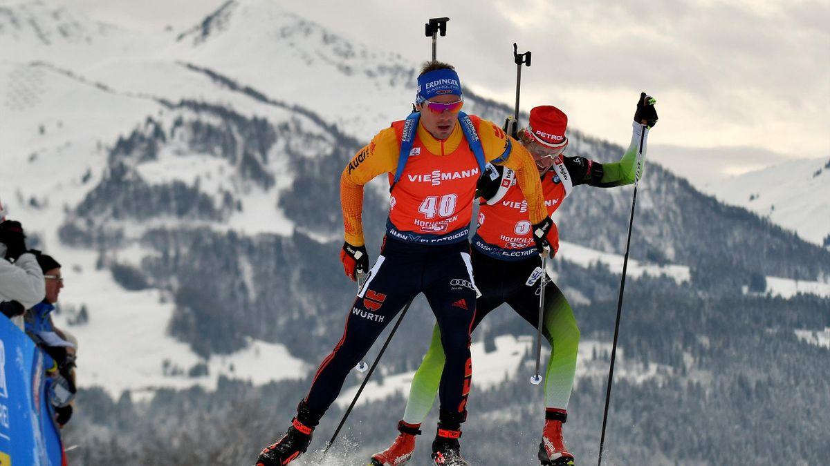 Simon Schempp und Erik Lesser