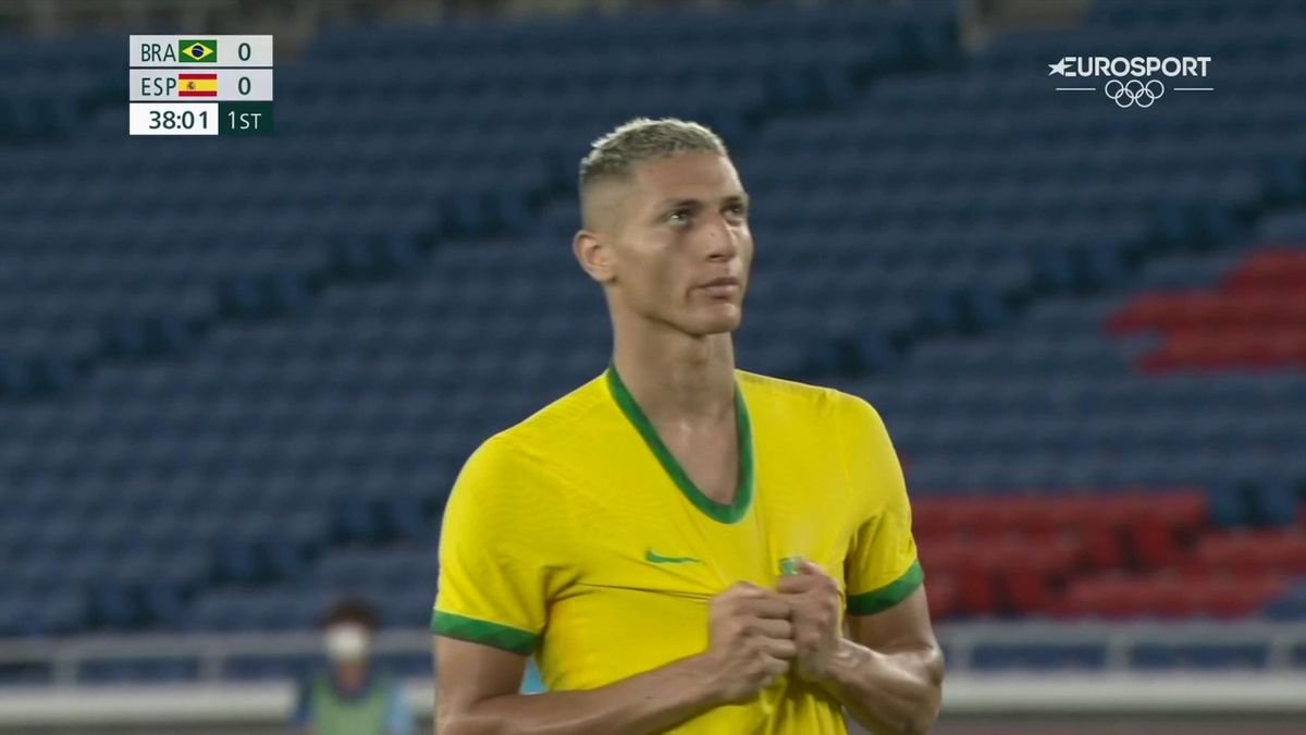 'Didn't fancy him at all!' - Richarlison with penalty shocker for Brazil in final