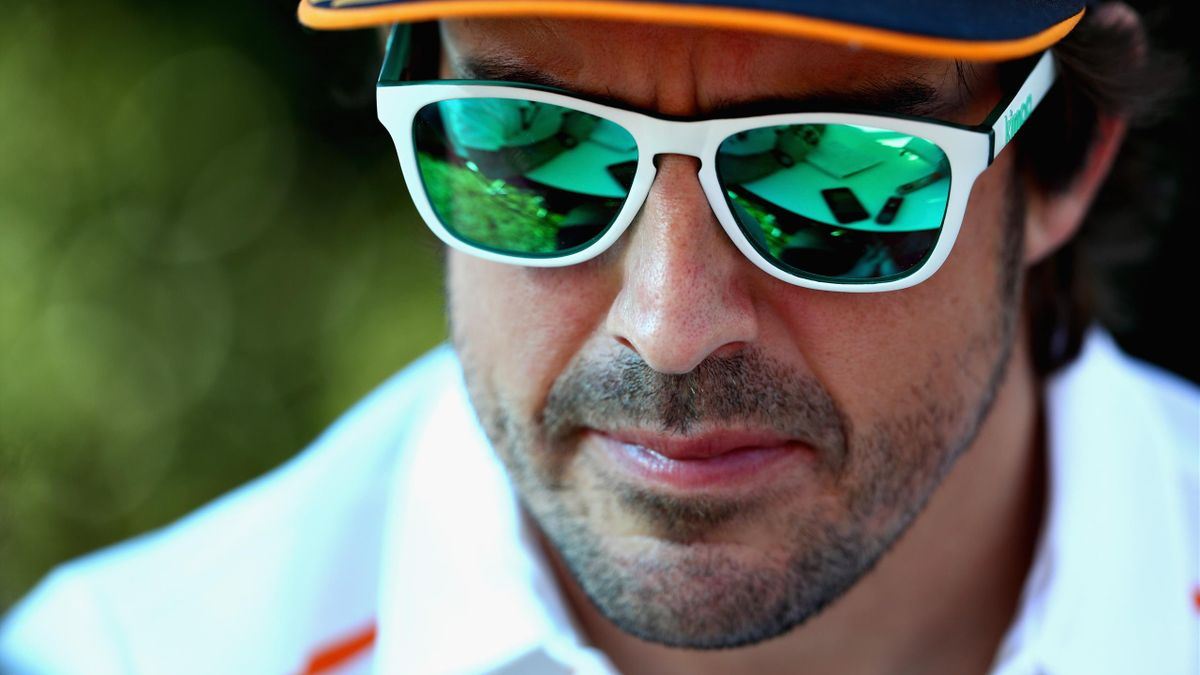 Fernando Alonso (McLaren) au Grand Prix d'Australie 2018