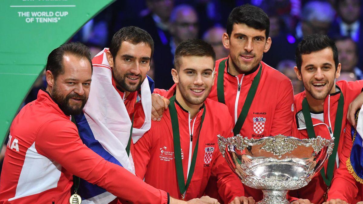 La Croatie tient son deuxième Saladier d'argent.