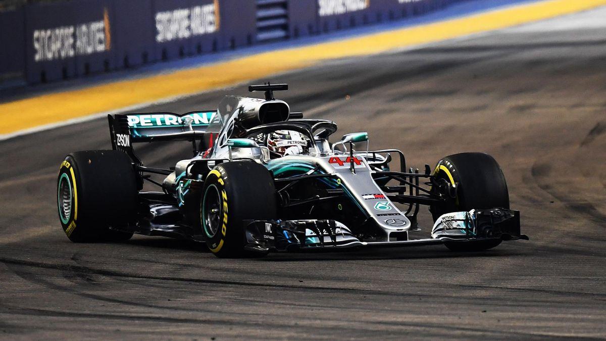 Lewis Hamilton (Mercedes) - GP of Singapore 2018
