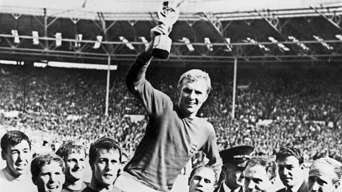 World Cup 1966 Bobby Moore England