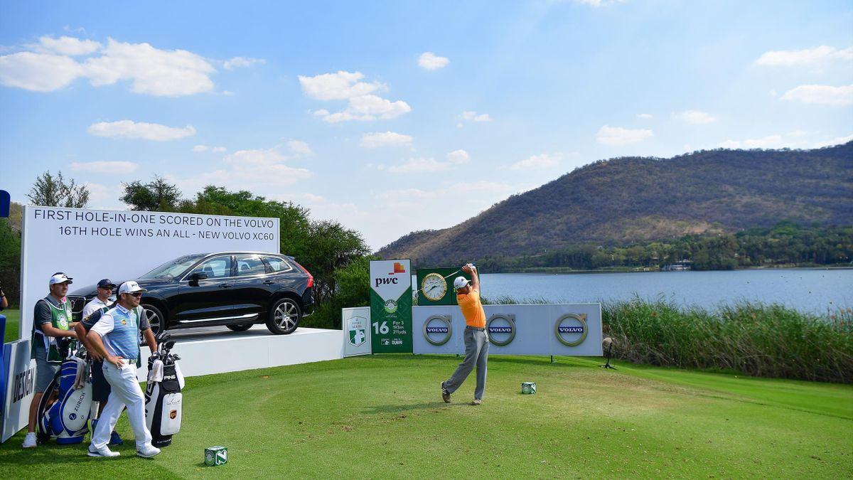 Sergio Garcia lors du Nedbank Golf Challenge