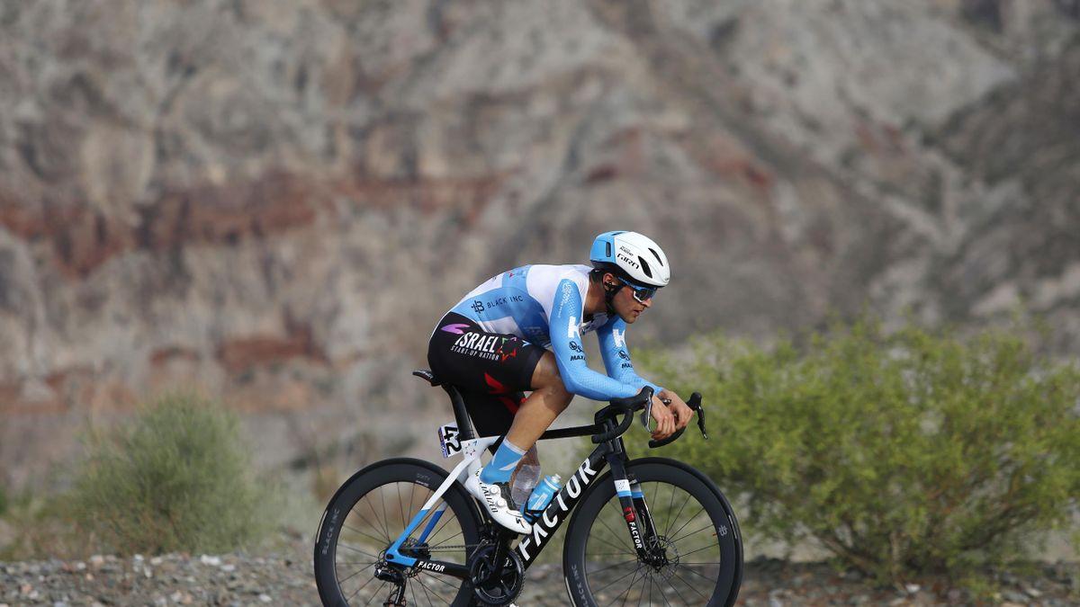 Itamar Einhorn, corredor del Israel Start - Up Nation en la Vuelta a San Juan 2020