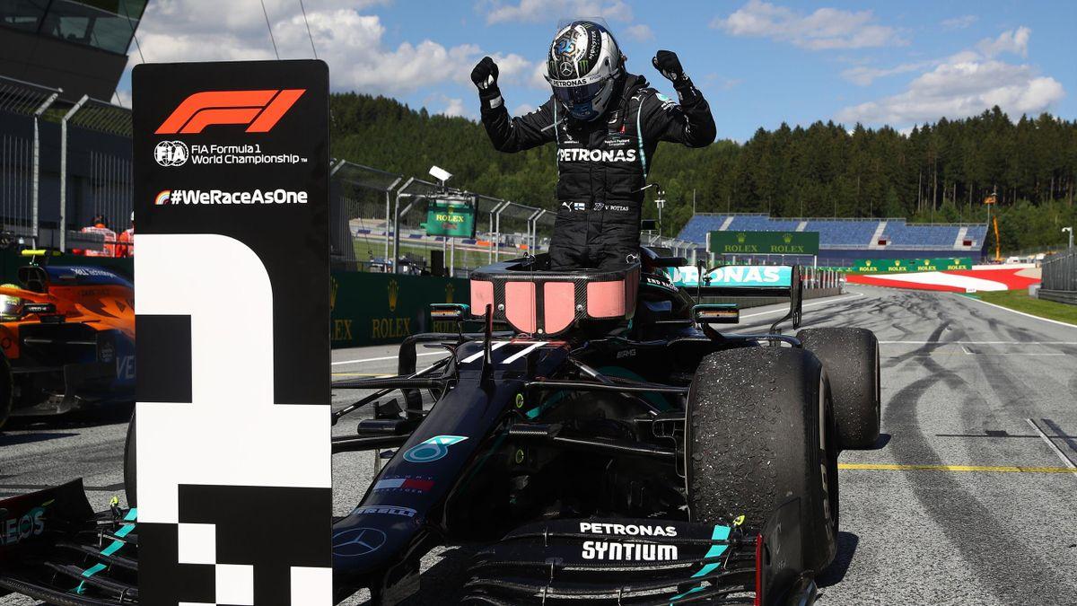 Valtteri Bottas (Mercedes) vainqueur du Grand Prix d'Autriche 2020