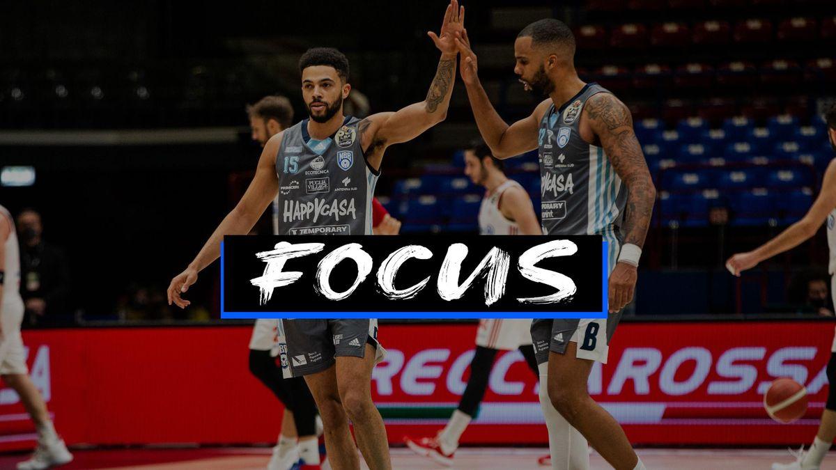 Thompson e Udom, Brindisi-Trieste, Coppa Italia 2021 - Focus