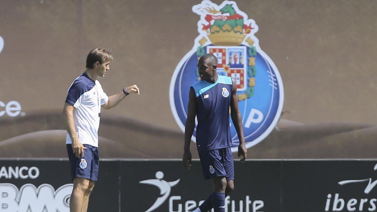 Imbulla lors de son premier entraînement avec le FC Porto
