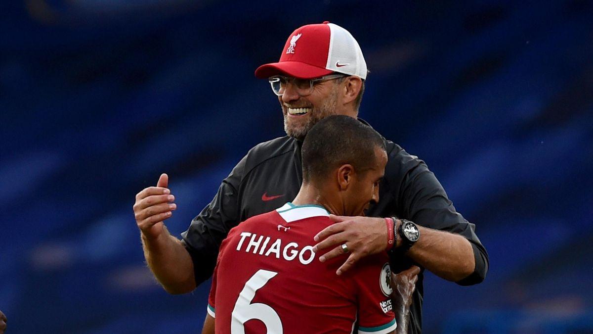 FC Liverpool: Jürgen Klopp și Thiago