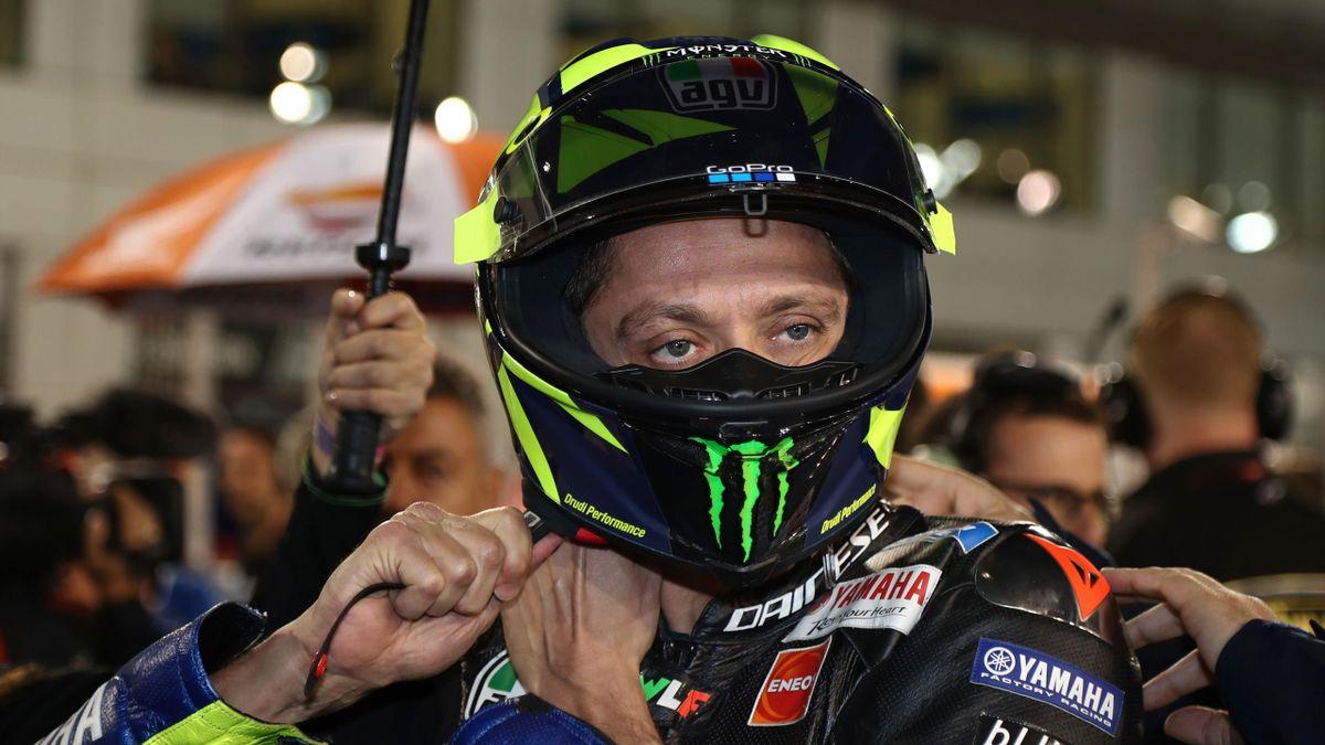 Valentino Rossi, ha inaugurato la stagione con un 5° posto dopo una grande rimonta dalla quinta fila, Getty Images