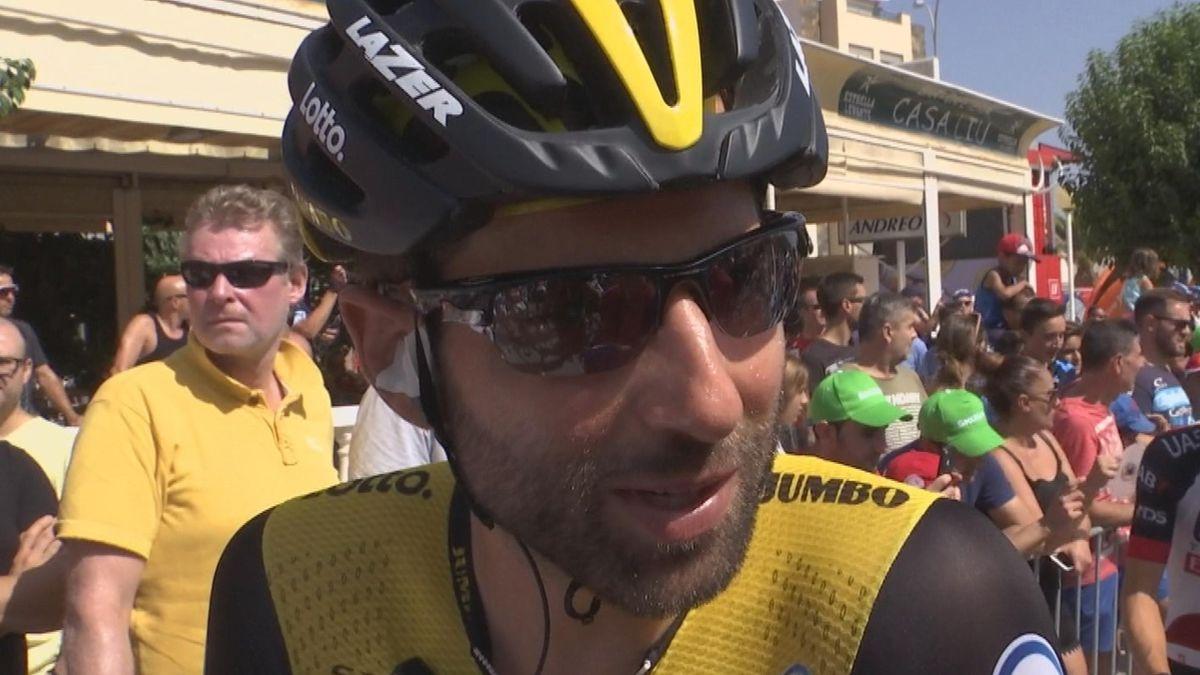Vuelta 2018 - Stage 7 - Interview Thomas Leezer