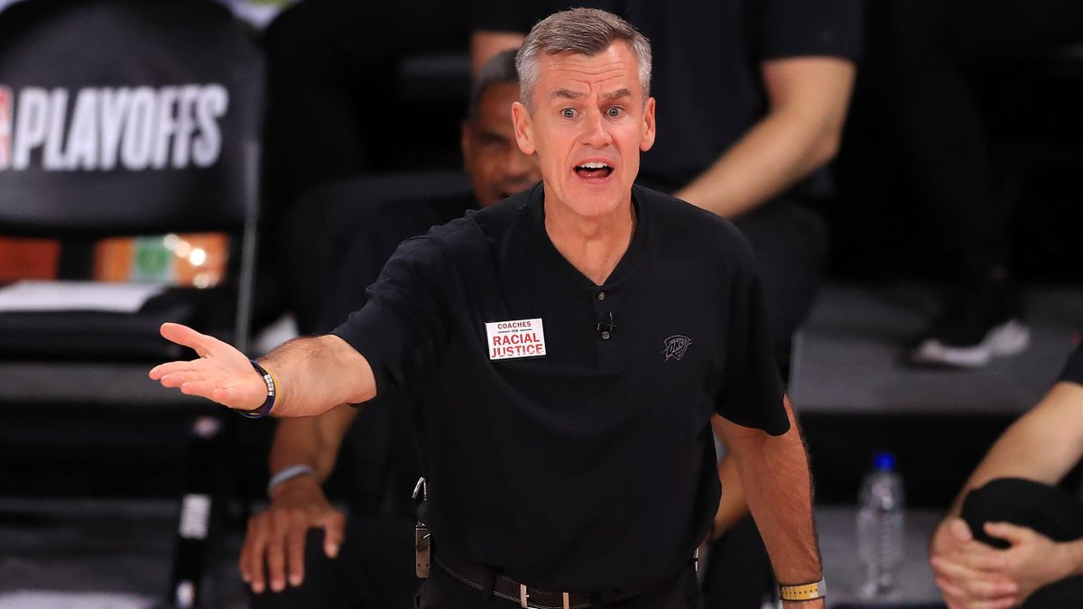 Billy Donovan, le désormais ex-entraîneur d'Oklahoma City