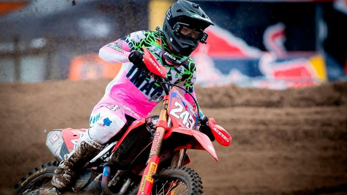 Tim Gajser of Team HRC is one of the hottest properties in MXGP