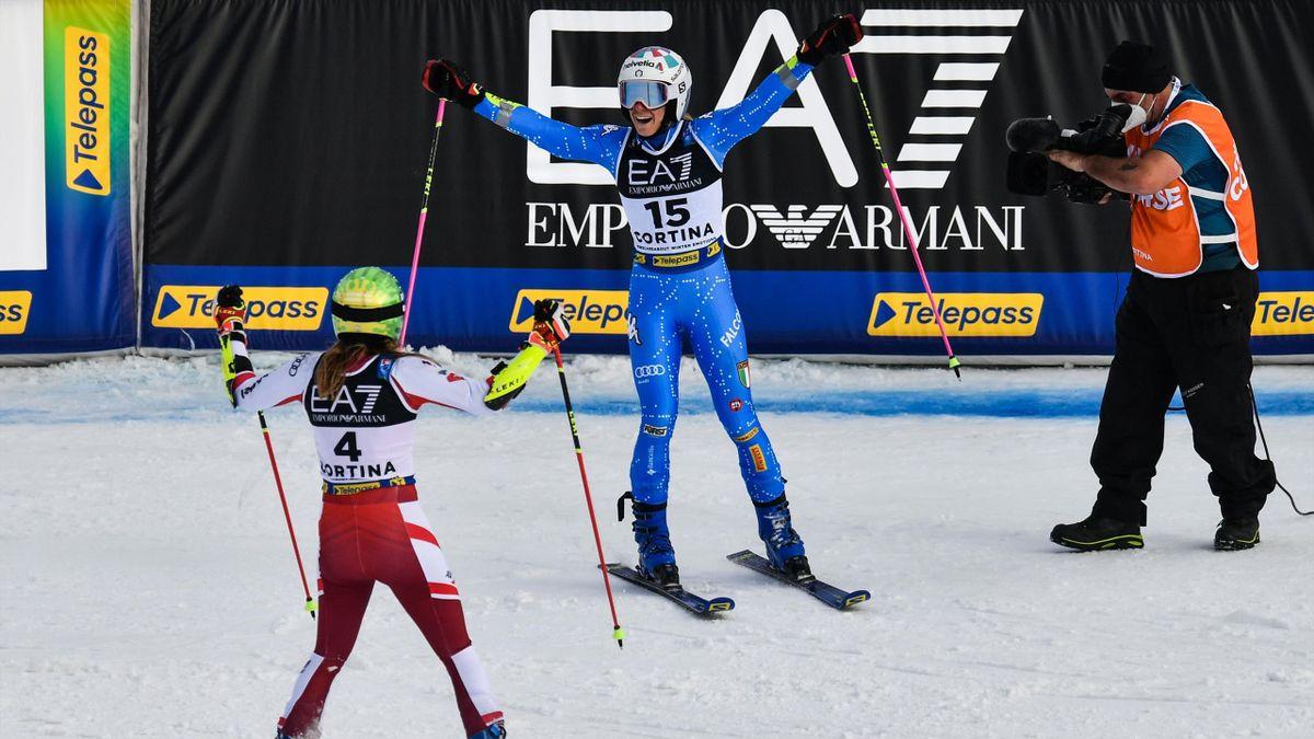 Marta Bassino oro nel parallelo a Cortina 2021