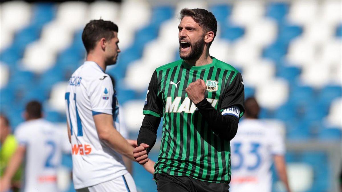 Domenico Berardi - Sassuolo-Atalanta Serie A 2020-21
