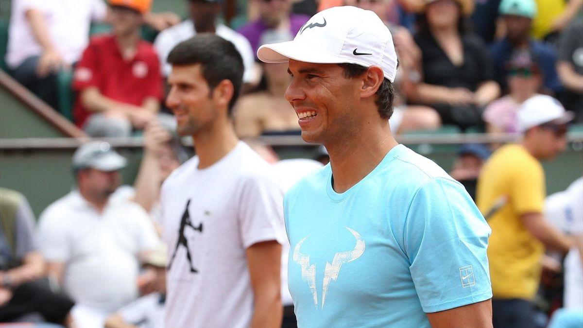 Rafael Nadal & Novak Djokovic