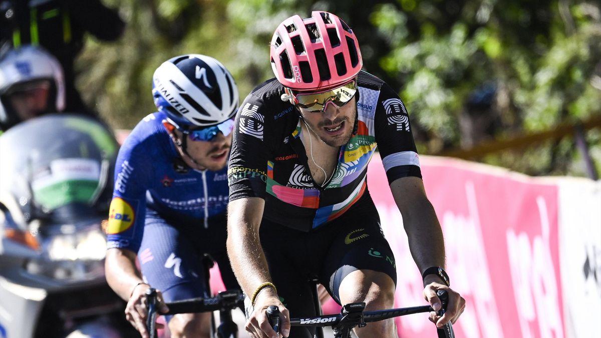Alberto Bettiol et Rémi Cavagna sur la 18e étape du Giro 2021