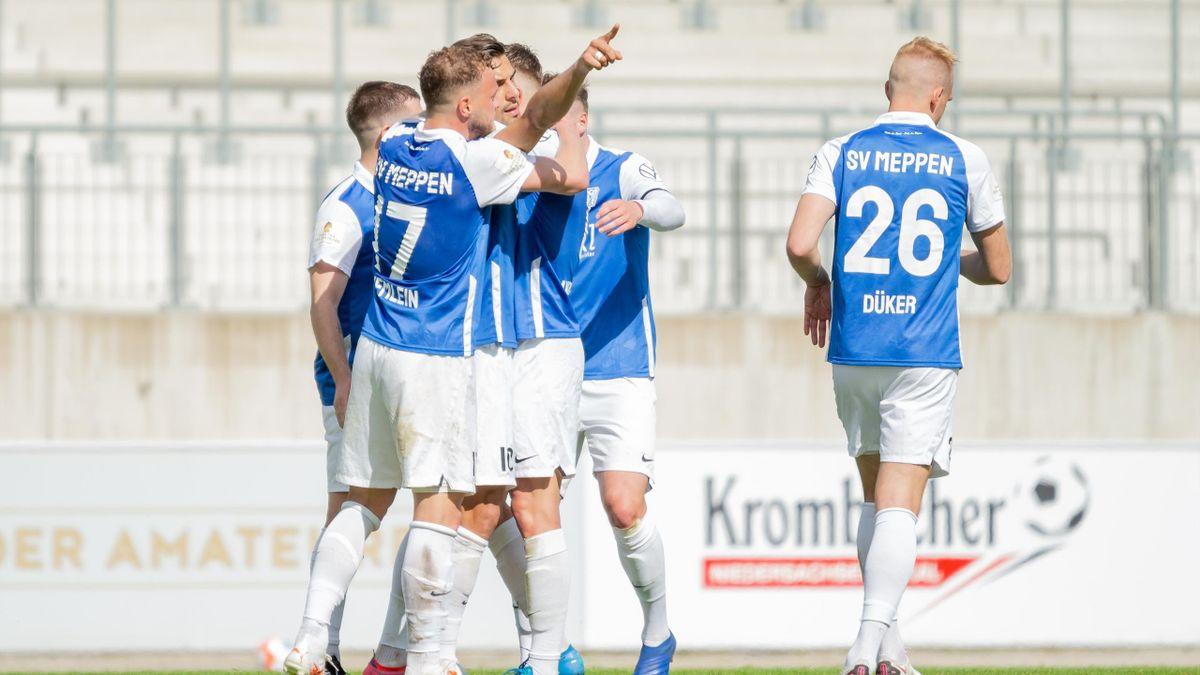 Der SV Meppen spielt auch in der kommenden Saison in der 3. Liga