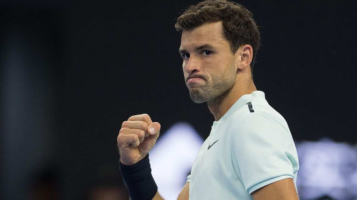 Grigor Dimitrov was too strong for Juan Martin del Potro.