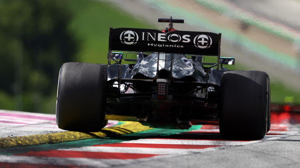 Formel-1-Pilot Lewis Hamilton im Mercedes