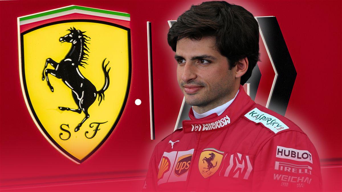 Sainz, nuevo piloto de Ferrari.