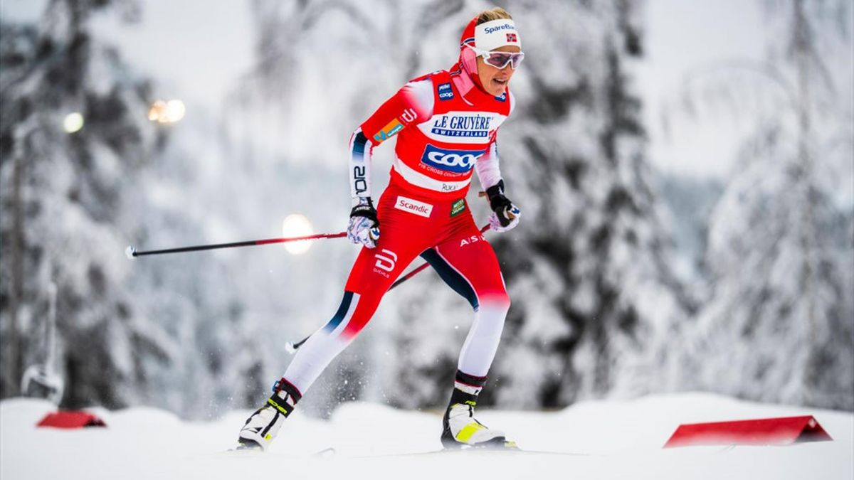 Therese Johaung gewann beim Weltcup-Auftakt in Ruka zwei Rennen. Bis Weihnachten wird sie jedoch keine weiteren Weltcups bestreiten