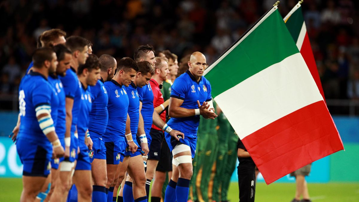 Sergio Parisse - Sudafrica-Italia - Rugby World Cup 2019 - Getty Images