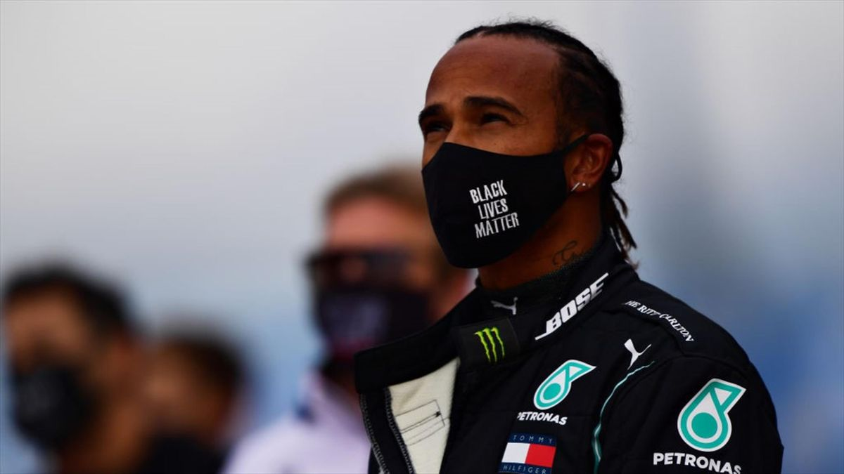 Lewis Hamilton vor dem Großen Preis der Eifel auf dem Nürburgring