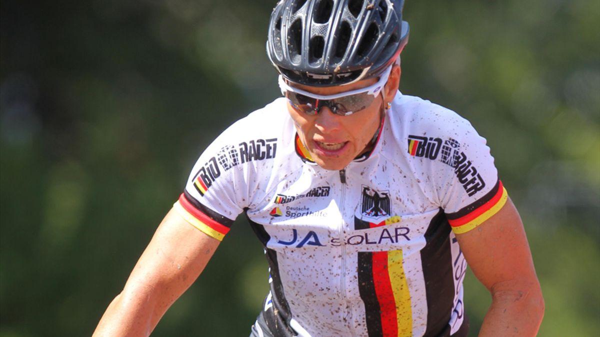 Sabine Spitz muss um ihren Olympia-Start in Rio bangen