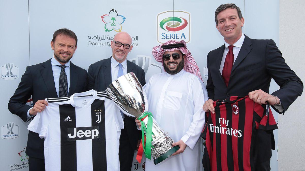 «Ювентус» и «Милан» сыграют за Суперкубок Италии в Саудовской Аравии в январе