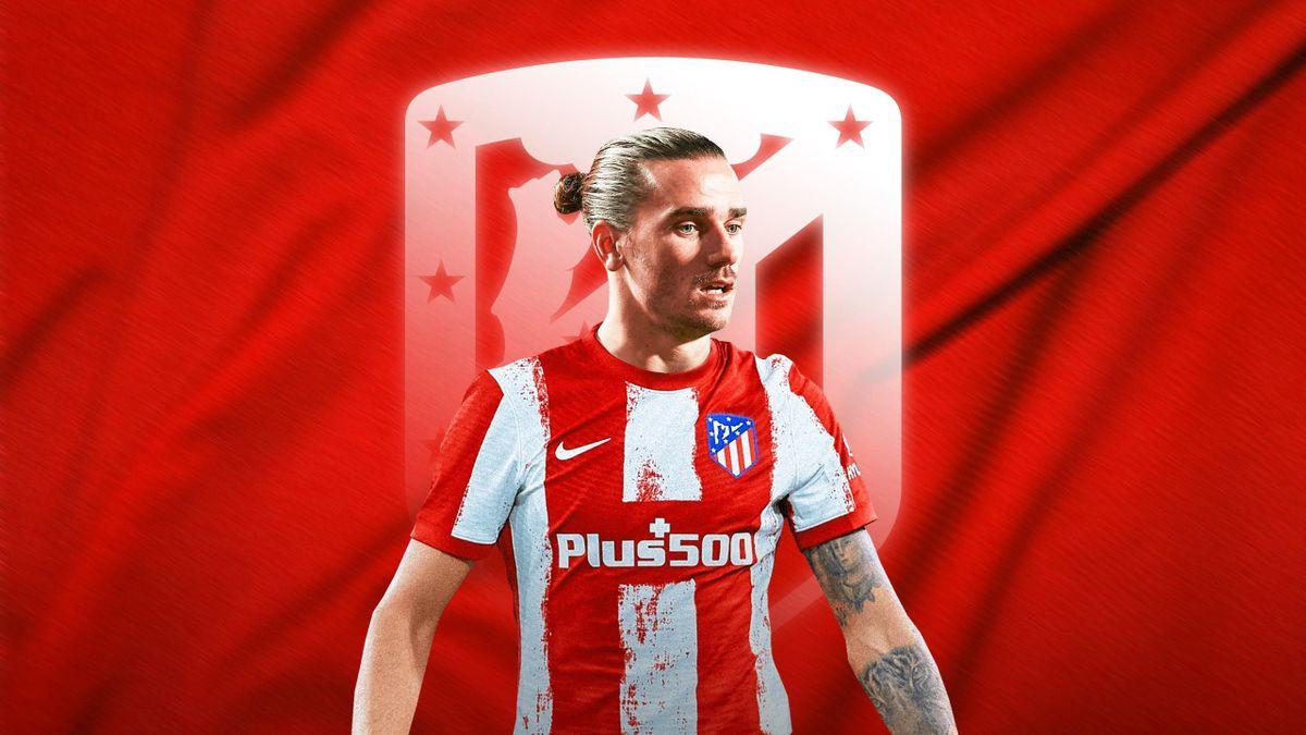 Griezmann retourne à l'Atlético Madrid