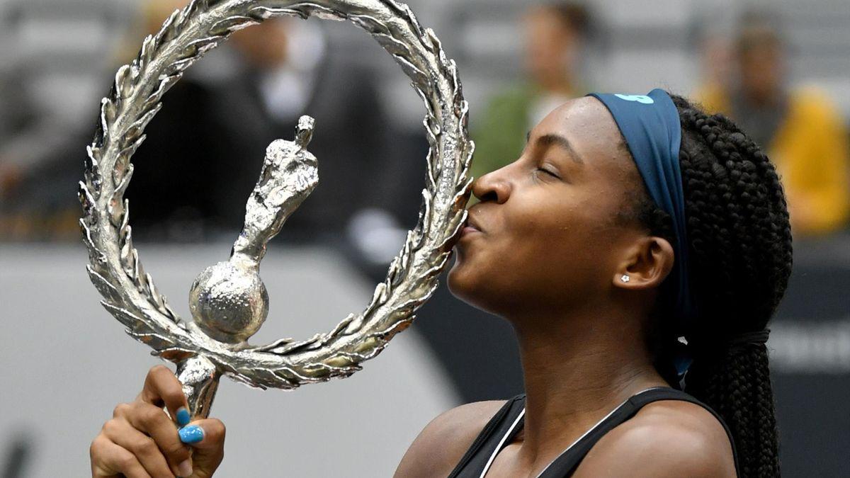 Cori Gauff gewinnt ihr erstes Turnier auf der WTA-Tour
