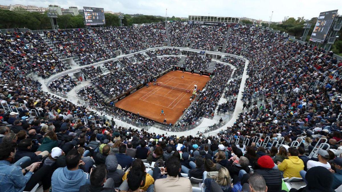 Beim ATP Masters in Rom dürfen ab dem Achtelfinale bis zu 25 Prozent der Zuschauerkapazität genutzt werden