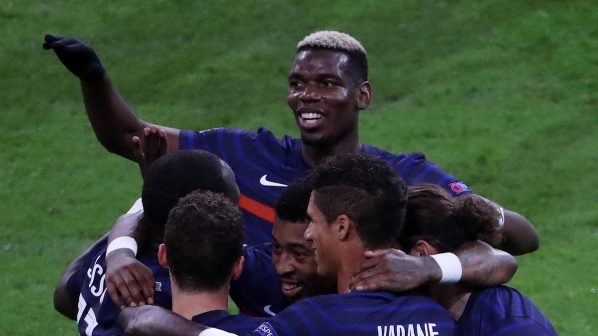 Deschamps: I hope Pogba form continues at Manchester United