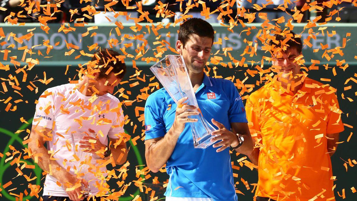Novak Djokovic encore titré à Miami.