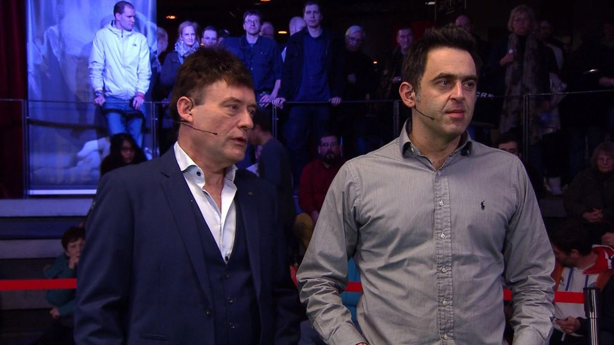 Jimmy White and Ronnie O'Sullivan